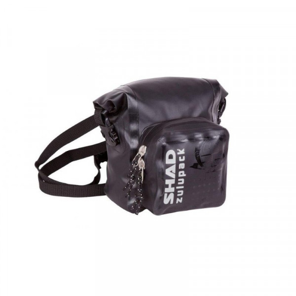 SHAD SW05 Zulupack Umhänge- / Schulter Tasche Schwarz Wasserdicht 5 Liter