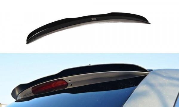 Spoiler CAP Passend Für MAZDA CX-7 Schwarz Matt