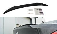 Spoiler CAP Passend Für BMW M6 E63 Schwarz Matt