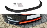 Front Ansatz Passend Für V.1 Ford Focus ST-Line Mk3 FL Carbon Look