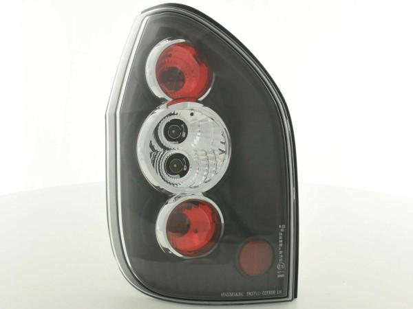 Rückleuchten Set Opel Zafira Typ T98 99-04 schwarz