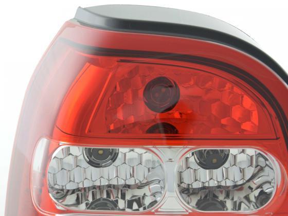 Rückleuchten Set VW Golf 3 Typ 1HXO Bj. 92-97 weiß/rot