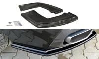 Heck Ansatz Flaps Diffusor Passend Für BMW X6 F16 M Paket Schwarz Matt