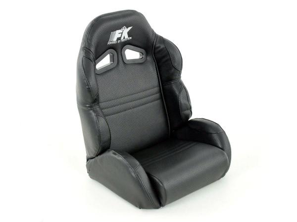 Kinder Kartsitz Seifenkisten Sitz Spielkonsolen Kindersitz Computer Spielsitz schwarz