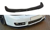 Front Ansatz Passend Für AUDI RS4 B5 Schwarz Matt
