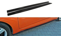 Dok³adki Progów Hyundai Veloster Schwarz Matt