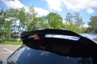 Spoiler CAP Für Hyundai I30 N Mk3 Hatchback Schwarz Hochglanz