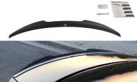 Spoiler CAP Passend Für Audi S4 B8 FL Limousine Schwarz Matt