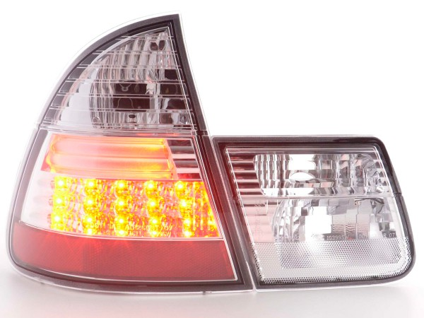 LED Rückleuchten Set BMW 3er Touring Typ E46 Bj. 98-05 chrom
