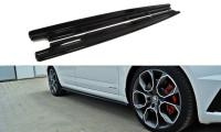 Seitenschweller Ansatz Passend Für Skoda Octavia RS Mk3 / Mk3 FL Hatchback / Kombi Carbon Look