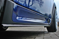 Seitenschweller Ansatz Passend Für MINI COOPER R56 JCW Carbon Look