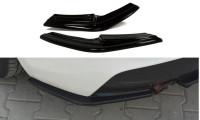 Heck Ansatz Flaps Diffusor Passend Für BMW 1er F20/F21 M-Power (vor Facelift) Schwarz Matt