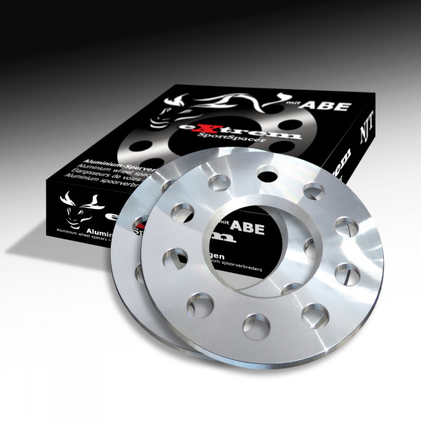Novus NJT Alu Spurverbreiterung 10mm LK 5x112 für AUDI/CHRYSLER/MERCEDES/VW mit ABE