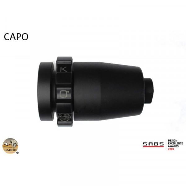 """Kaoko Gasgriff-Arretierung """"Drive Control"""" für APRILIA Caponord 1000 ETV"""