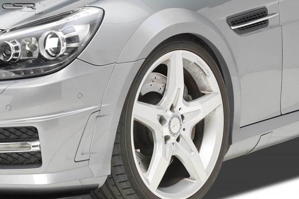 Kotflügelverbreiterung vorne für Mercedes Benz SLK / SLC R172 VB017