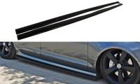 Seitenschweller Ansatz Passend Für Audi S6 / A6 S-Line C7 Carbon Look