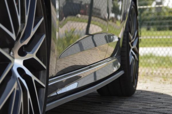 Seitenschweller im Cup Look für Seat Leon 5F ab Bj. 2012-