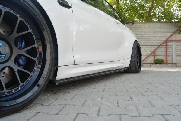 Seitenschweller Ansatz Für BMW M2 F87 COUPÉ Carbon Look
