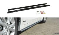 Seitenschweller Ansatz Passend Für Lexus CT Mk1 Facelift Carbon Look