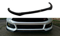 Front Ansatz Passend Für V.1 Ford Focus ST Mk3 FL Carbon Look