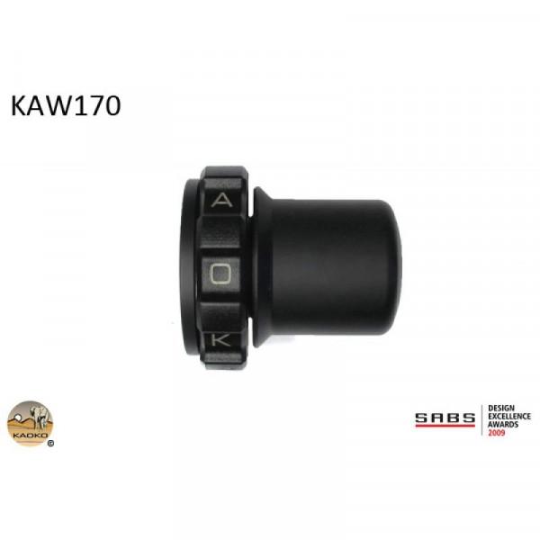 "Kaoko Gasgriff-Arretierung ""Drive Control"" für Kawasaki ZX-6R (ZX636-B1), Z1000, ZX-6R, Z300, ZX-7R"