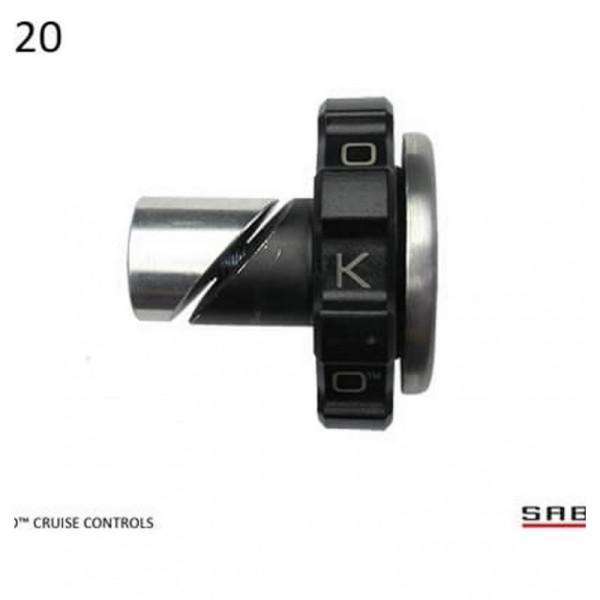 """Kaoko Gasgriff-Arretierung """"Drive Control"""" für Honda VFR800X Cross Runner"""