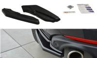 Heck Ansatz Flaps Diffusor Passend Für Renault Laguna Mk 3 Coupe Carbon Look