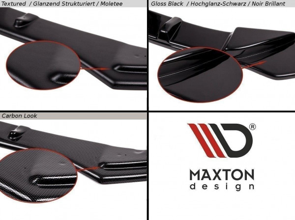 Heck Ansatz Flaps Diffusor Passend Für Mazda 6 Mk1 MPS Carbon Look