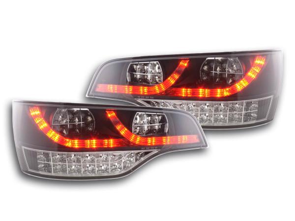 LED Rückleuchten Set Audi Q7 Typ 4L 06- schwarz