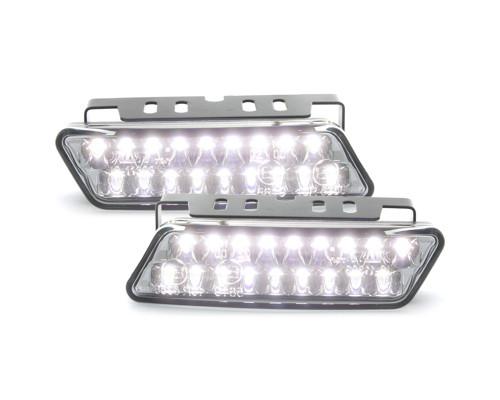 LITEC LED Tagfahrlicht mit 18 Superflux Piranha LED 100 x 25 x 34mm