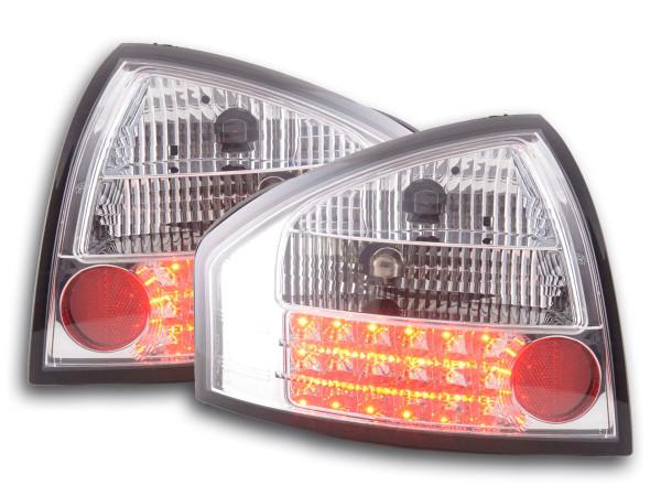 LED Rückleuchten Set Audi A6 Limousine Typ 4B Bj. 97-03 chrom
