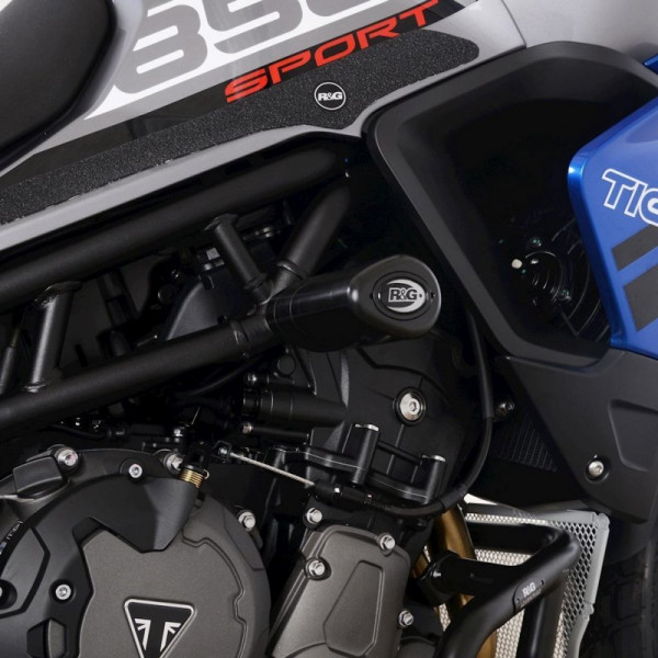 """R&G Racing Sturzpads """"No Cut"""" Triumph Tiger 850 Sport 2021-"""