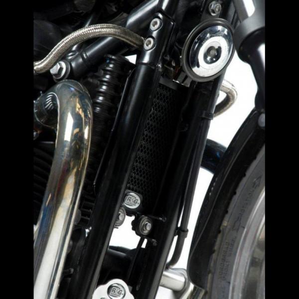 R&G Racing Kühlergitter Ölkühler Triumph Thruxton 900