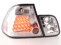 LED Rückleuchten Set BMW 3er Limousine Typ E46 Bj. 98-01 chrom