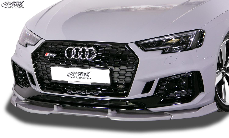 RDX Frontspoiler VARIO-X A4 8W B9 Frontlippe Front Ansatz Vorne Spoilerlippe