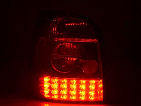 LED Rückleuchten Set Audi A4 Avant Typ B5 Bj. 95-00 schwarz