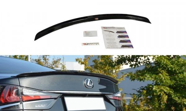 Spoiler CAP Passend Für Lexus GS Mk4 Facelift T Schwarz Matt