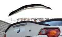 Spoiler CAP Passend Für BMW Z4 E85 Vor Facelift Schwarz Hochglanz