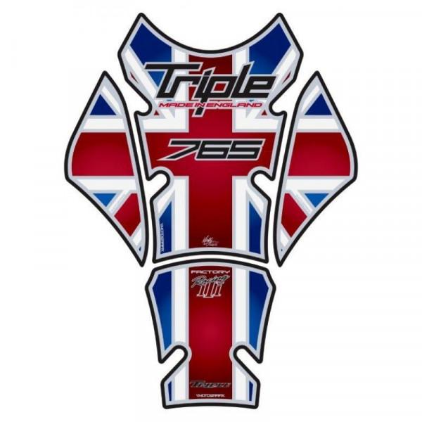 Motografix Triumph Street Triple 765 3D Gel Tank Pad Protector TT032UJ