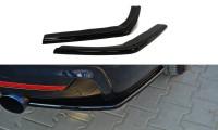 Heck Ansatz Flaps Diffusor Passend Für BMW 4er F32 M Paket Carbon Look