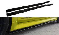Seitenschweller Passend Für Diffuser Ford Focus RS Mk2 Carbon Look