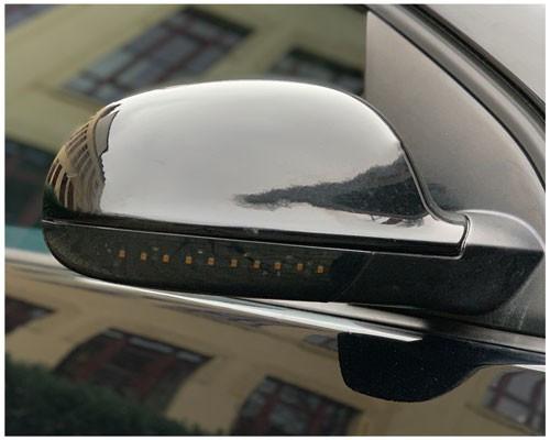 LED Spiegelblinker dynamisch VW Golf V, Sharan, Jetta, Passat, Eos, rauch