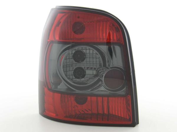 Rückleuchten Set Audi A4 Avant Typ B5 95-00 schwarz/rot