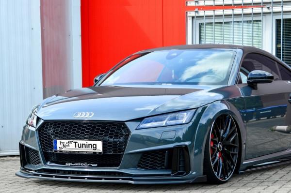 Spoilerschwert Frontspoiler mit Wing aus ABS für Audi TT+TTS 8S S-Line Facelift