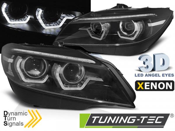 Xenon Scheinwerfer LED DRL Black dynamische Blinker passend für BMW Z4 E89 09-13
