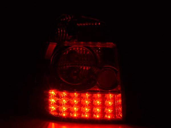 LED Rückleuchten Set Audi A4 Avant Typ B5 Bj. 95-00 klar/rot