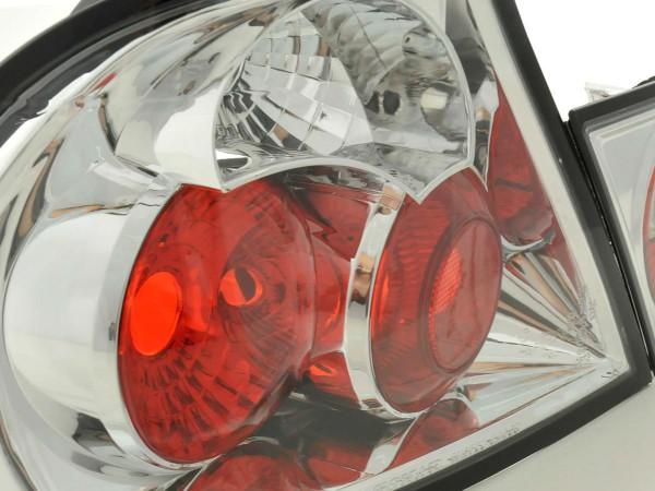 Rückleuchten Set BMW 3er Coupe Typ E46 Bj. 99-02 chrom
