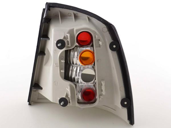 Rückleuchten Set Opel Astra G Bj. 98-03 schwarz chrom