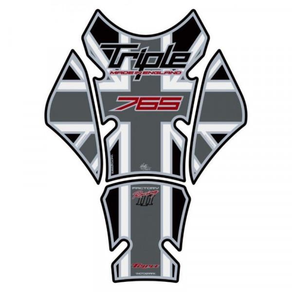 Motografix Triumph Street Triple 765 3D Gel Tank Pad Protector TT032MJ