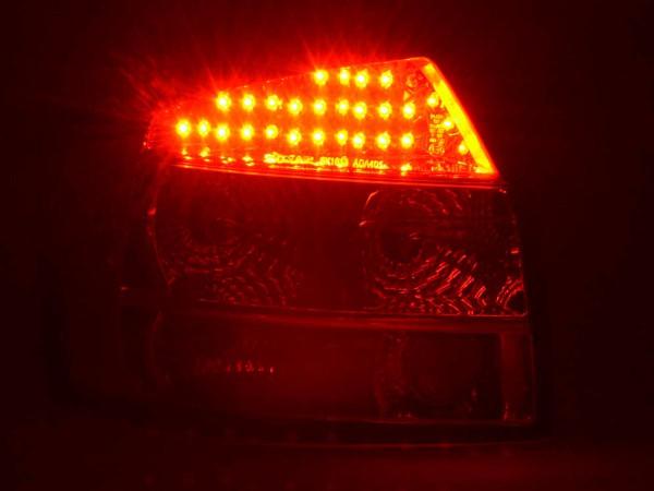 LED Rückleuchten Set Audi A4 Limousine Typ 8E Bj. 01-04 chrom